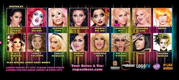 ru pauls drag race  world tour