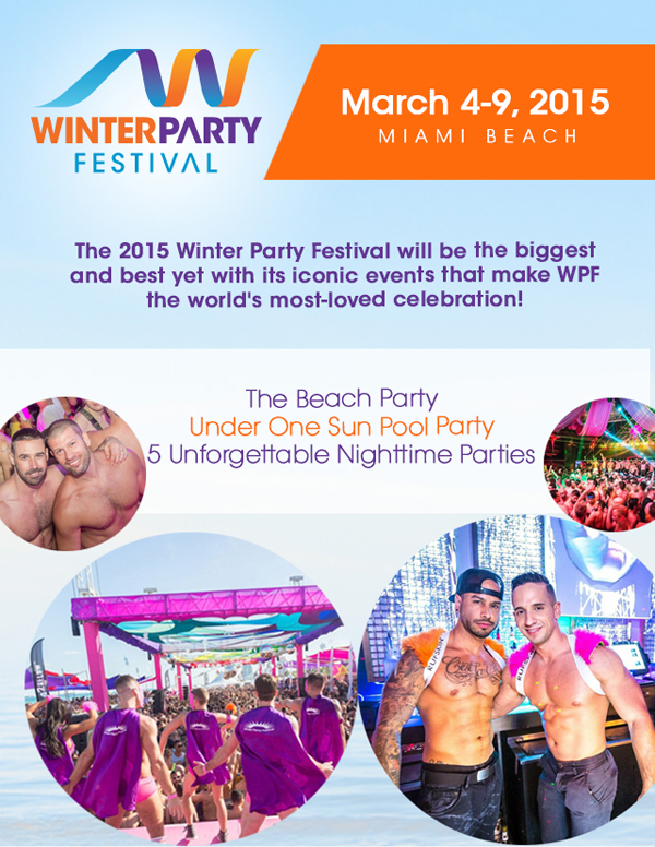 winter party 2015 Miami